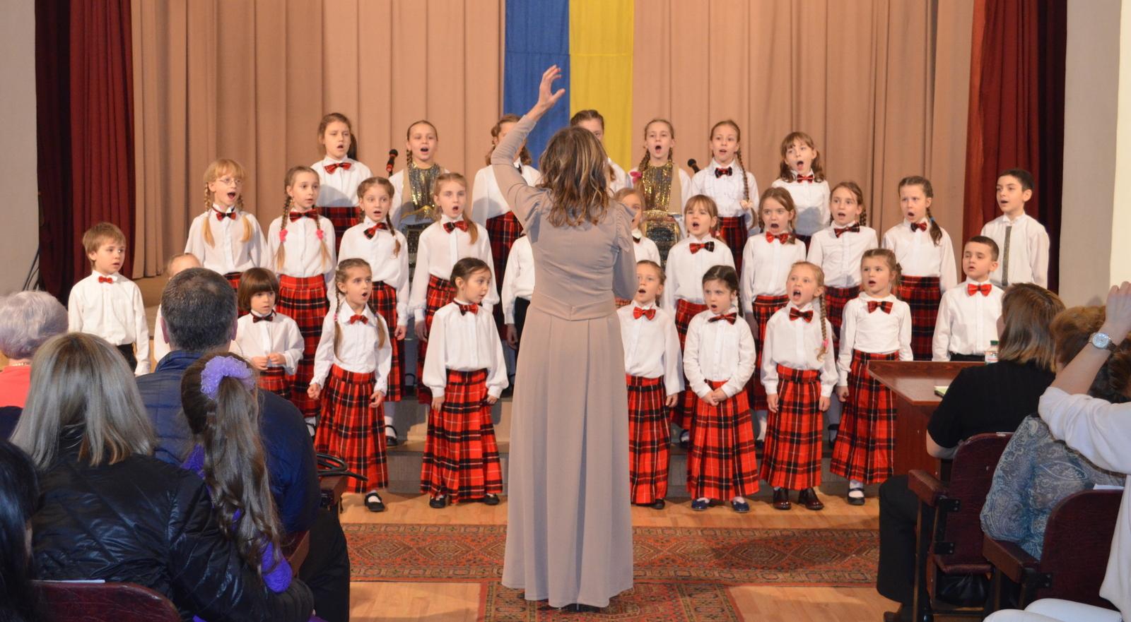 Дитячий хор Веснянка - молодша група
